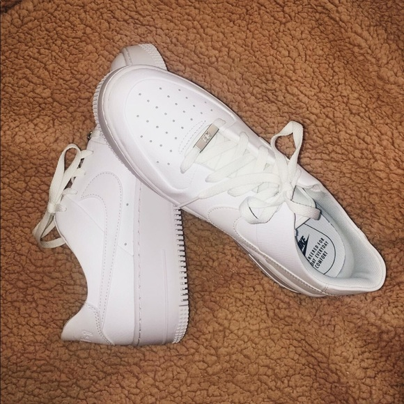 Nike Shoes Never Worn Womens Air Force 1 Sage Low Poshmark